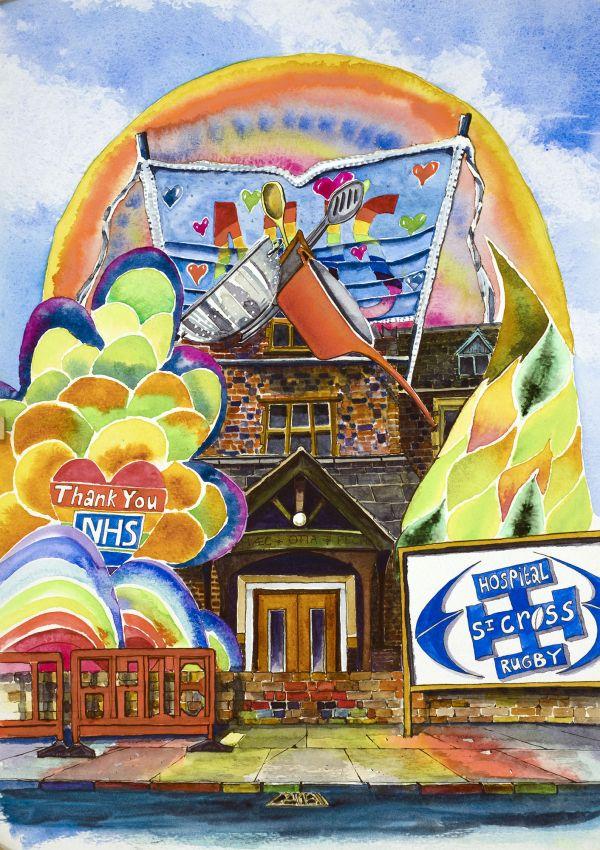 January: Rugby St Cross Hospital